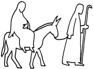 mary and joseph outline advent coloring pages batch coloring