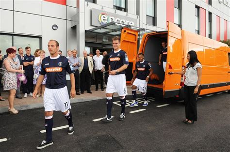 vauxhall luton vauxhall movano becomes luton town football club s new