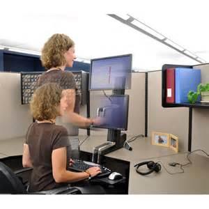 Workfit s ergotron 33 342 200 single ld sit stand workstation