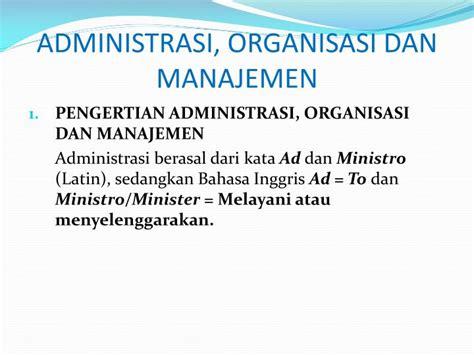 Organisasi Kepemimpinan Dan Perilaku Administrasi Sondang P Siagian ppt silabus organisasi dan manajemen powerpoint presentation id 3446432