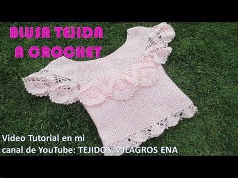 blusa tejida a crochet para verano parte 1 de 2 blusa tejida a crochet para verano parte 2 de 2 youtube