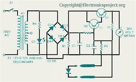 application of zener diode with circuit diagram test a diode zener diode electronics project