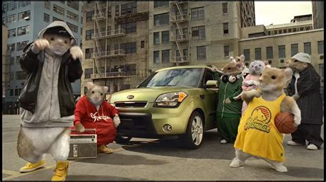 Kia Soul Chipmunk Commercial Kia Sells Its Soul With Hip Hop Hamsters