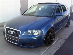 2006 Audi A3 Reliability 2006 Audi A3 Blue 200 Interior And Exterior Images