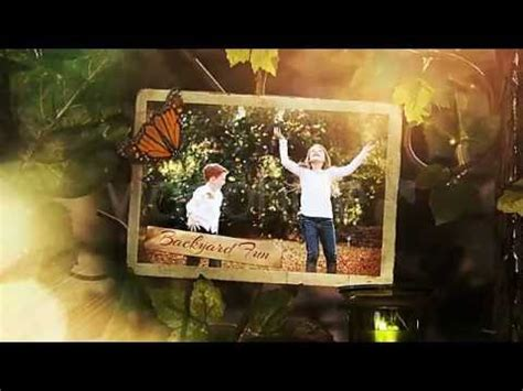 free template after effects photo album the secret garden photo album gallery after effects