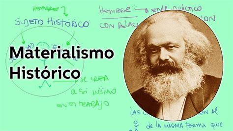 Imagenes Materialismo Historico | materialismo hist 243 rico educatina youtube
