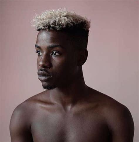 black men with gray hair picturec wat vind jij van de blondeertrend manners magazine