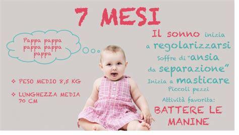 alimentazione 7 mesi neonato 7 mesi peso alimentazione sviluppo e progressi