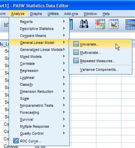 spss tutorial for anova two way anova in spss statistics step by step procedure