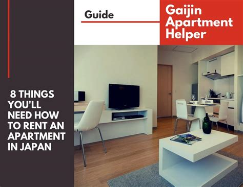 how to rent an apartment in japan 8 things you ll need