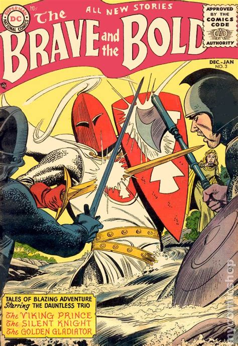 brave a trilogy volume 3 books brave and the bold 1955 1st series dc comic books
