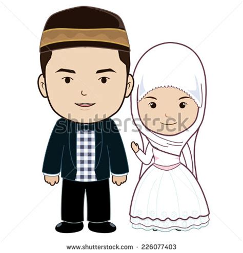 Muslimah Wedding Vector by Muslimah Wedding Www Pixshark Images