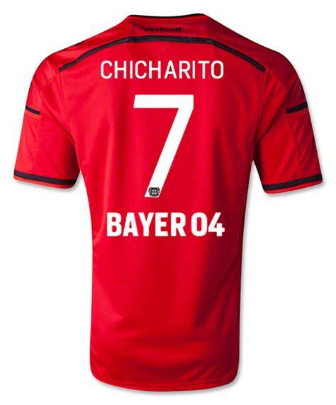 Jersey Go Bayern Leverkusen Home chicharito bayer leverkusen jersey soccer365