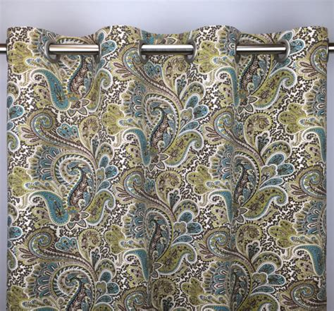 Paisley Curtains Blue Blue Paisley Curtains At Best Office Chairs Home Decorating Tips