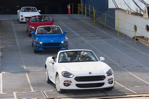 Fiat Spider Usa by Fiat 124 Spider Arrives In The Us Starts From 24 995