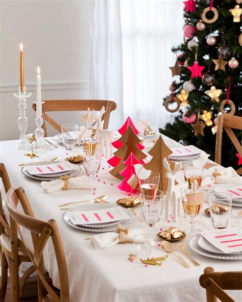 Decorations Table De Noel by D 233 Co Table No 235 L Et Blanc 50 Id 233 Es Qui Unifient Le