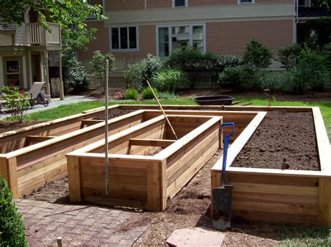 Raised Planter Box Design by Planter Box Designs Build It With Redwood Horizontal