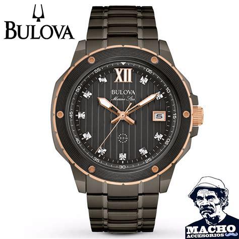 Bulova Original Marine reloj bulova marine 98d128 original importado de