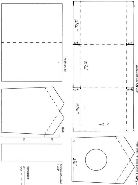 birdhouse templates free birdhouse house plans wooden pdf wood carving