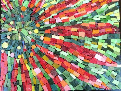 student works santa barbara school  mosaic art