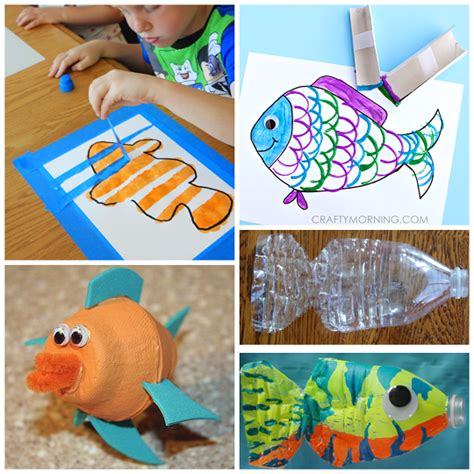 crafts for children to make creative fish crafts for crafty morning