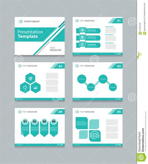 presentation layout ai business vector template presentation slides background