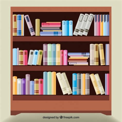 bookshelf vectors photos and psd files free