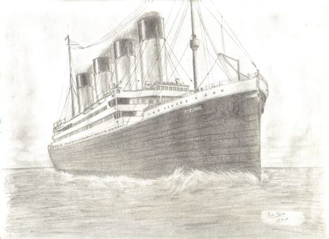 titanic boat sketch most beautiful drawing in the world how to draw titanic ship