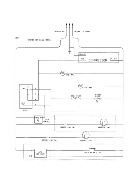 wiring schematic diagram parts list for model