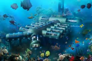 water hotel this underwater hotel is slated to be built the