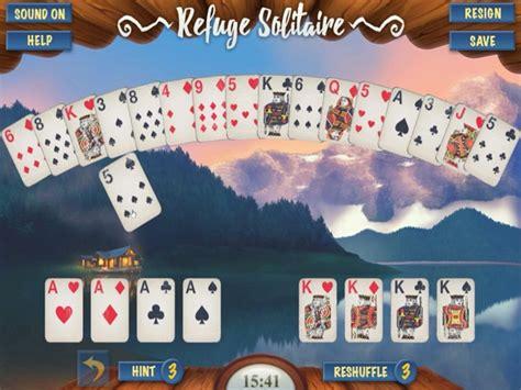 refuge solitaire juego  en juegosjuegoscom