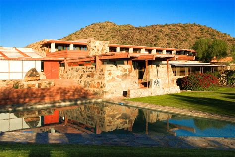 getting personal with frank lloyd wright taliesin and ad classics taliesin west frank lloyd wright archdaily