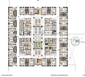 Hospital Floor Plans Hospital Interior Design Floor Plan And Layout Psychiatry