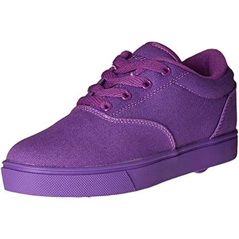 wheeled shoes for heelys 4529 launch purple wheeled heel sneaker shoes