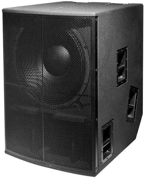 vtc pro audio inception series 21 inch powered subwoofer