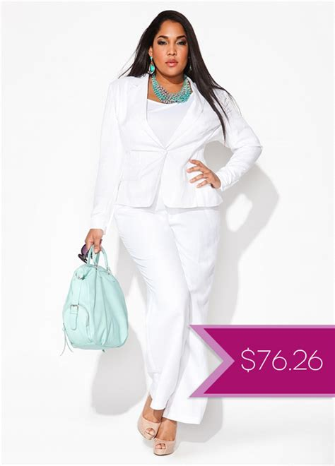 white pant suits for women Quotes