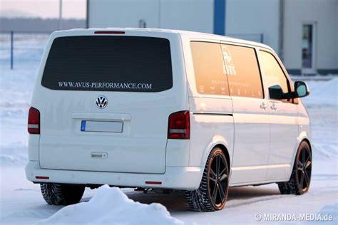 Kosten Lackierung Vw T5 by Vw T5 Bekommt Ein Schickes Facelift Von Avus Performance
