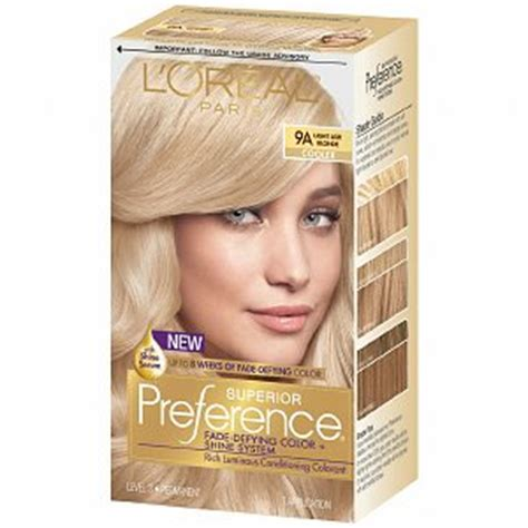 Gold Product Box Joyko Cb 27 l oreal preference 9a light ash haircolor wiki