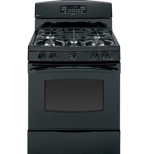 ge profile gas range ge profile 30 free standing self clean gas range pgb910detbb anvil appliances