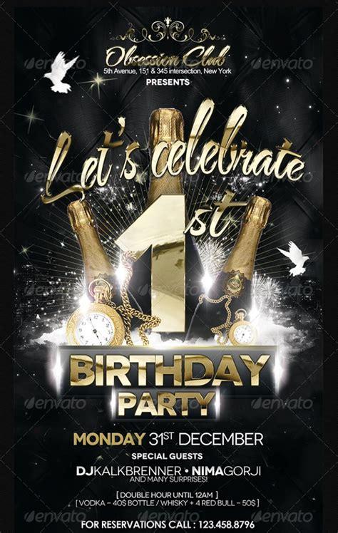 birthday party flyer design psd  design trends premium psd vector downloads