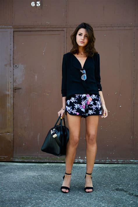 Summer 08 Trends Floral The High Looks by How To Wear All Black In The Summer Glam Radar