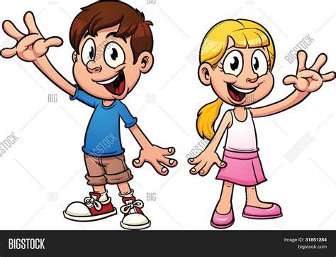 imagenes hola a todos vector y foto cute dibujos animados para ni 241 os bigstock