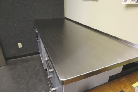 stainless steel table top metal fabrication
