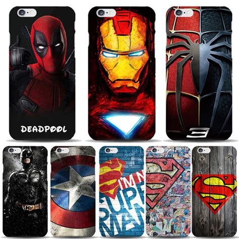 The Calling Batman Comic Iphone Iphone 6 5s Oppo F1s Redmi new popular marvel comics superman mobile phone