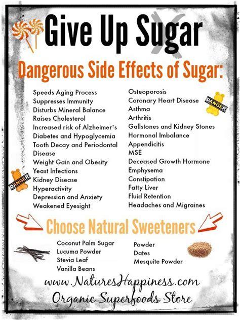 Detoxing Diet Side Effects by Give Up Sugar Dangerous Side Effects Of Sugar Www