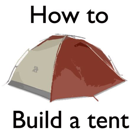 how to make a canopy how to prepare for the appalachian trail building a tent the badger