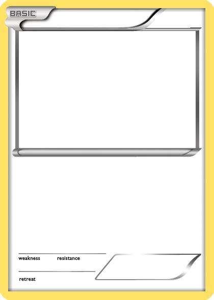 card templates for pages blank card classroom pok 233 mon