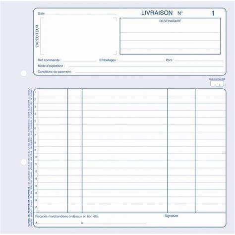 Pc Table by Croquart Bon De Livraison Carnet Autocopiant Tripli