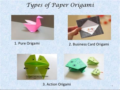 Origami Paper Types - origami a paper folding