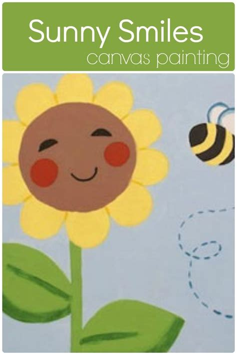 Social Artworking Canvas Painting - 1000 ideas about sunflower canvas paintings on
